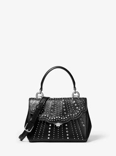 ca4799d088a93d Perfectly polished, the Ava crossbody is shaped in a sophisticated top-handle  silhouette embellished with crystals and mini studs. Consider this  statement ...