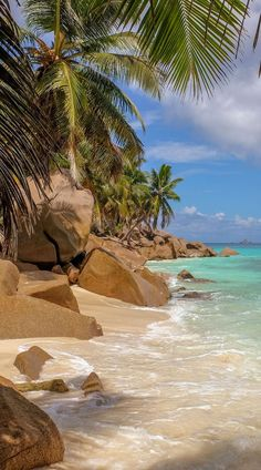 The Seychelles Islands form an expansive archipelago that includes more than 100 islands in the beautiful Indian Ocean.The islands in the Seychelles have some of the most beautiful beaches in the world. Beautiful Places To Travel, Beautiful Beaches, Cool Places To Visit, Romantic Travel, Vacation Places, Dream Vacations, Vacation Spots, Hawaii Vacation, Italy Vacation