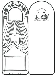 printables for kids Projects For Kids, Crafts For Kids, Mothers Day Coloring Pages, Hebrew School, Shaped Cards, Diy Origami, Print Templates, Paper Dolls, Bookmarks