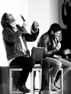 J2  <3 love them so much!  Hoping Liz has the time of her life tonight at Vegas con!