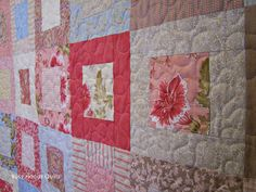 Busy Hands Quilts: Autumn Lily Lap Quilt {Custom Quilting}