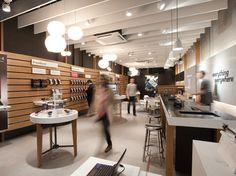 [Everything Everywhere retail design, White City London, mobile retailing]