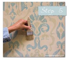 Do you want to learn a super fast and easy stencil technique to create… :: Hometalk