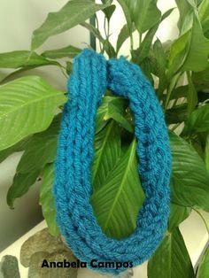 .: Gola colar em tricot