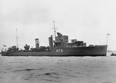 "HMS Firedrake. DECEMBER 1942, 16th - In attacks on UK/North America convoy ON153, ""U-211"" sank destroyer ""FIREDRAKE"" in mid-Atlantic on the night of the 16th/17th."