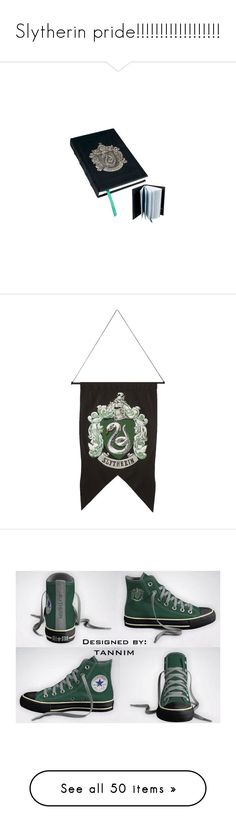 """""""Slytherin pride!!!!!!!!!!!!!!!!!!"""" by supernatural-fan-1999 ❤ liked on Polyvore featuring home, home decor, stationery, jewelry, rings, harry potter, slytherin, green jewelry, clear jewelry and coiled snake ring"""