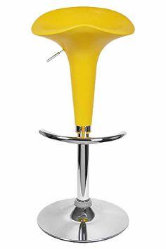 Slimline Swivel Adjustable Bar Stool