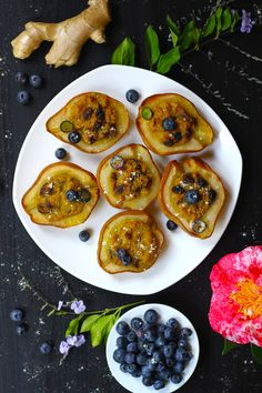 AIP Oven Baked Ginger Pears (Paleo, Gluten Free, Dairy Free, Sugar Free)
