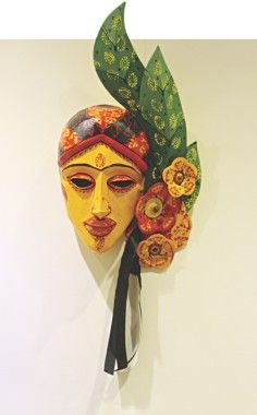 Pohela Boishakh is one of Bengal's most loved festivals. We all celebrate this festival irrespective of our cultural or religious differences. Iconic Photos, Masks Art, Community Art, Headgear, Indian Art, Folk Art, Asia, Culture, Selfie