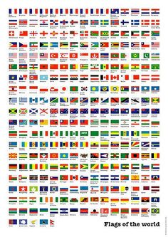 Flags of the world♦️More Pins Like This At FOSTERGINGER @ Pinterest ♦️