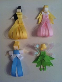 Yup. Homemade Princess Hair Clips. :)