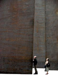 richard serra we can all move mountains when we trust our intuition...its not always in the gear of worry but alertness