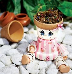 Ausgefallene Gartendeko Selber Machen: Tolle Upcycling Ideen | Pinterest