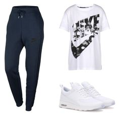 """Untitled #113"" by mcnsh21 ❤ liked on Polyvore featuring NIKE"