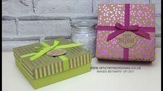 Birthday Extravaganza - Foil Frenzy Gift Box - YouTube