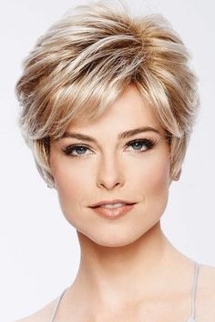 True Demure Petite/Average by Eva Gabor Wigs - All Hair Styles Short Choppy Hair, Short Pixie Haircuts, Hairstyles Haircuts, Modern Hairstyles, Women Pixie Haircut, Teenage Hairstyles, Haircut For Older Women, Short Hair Cuts For Women, Eva Gabor