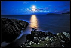 Moonlight in Donegal - Ireland