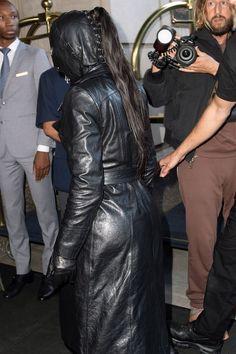 Kim Kardashian Kim Kardashian, Leather Pants, Dominatrix, Exploring, Jackets, Nyc, Fashion, Leather Jogger Pants, Down Jackets