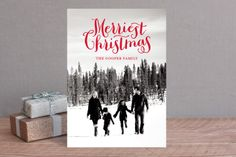 Happiest Holidays by Lauren Chism at minted.com