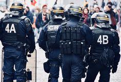 Police Nationale, Hot Cops, Motorcycle Jacket, Uni, Core, French, Shotguns, Law Enforcement