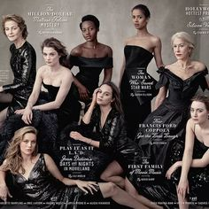 """Vanity Fair made a powerful statement on the cover of its 2016 """"Hollywood"""" issue"""