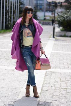 www.shush-mush.com Duster Coat, Street Style, Jackets, Fashion, Down Jackets, Moda, Urban Taste, Fashion Styles, Street Styles