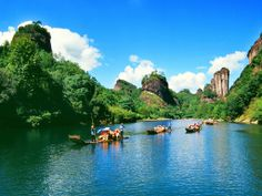 Mount Wuyi (UNESCO) - Fujian, China