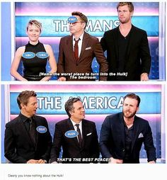 Team iron man vs team cap honestly one side is so professional and the other has rdj with a name tag on his face and Scarlett with two chrises