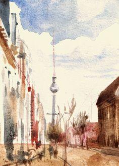 #Alexanderplatz #Berlin #Fernsehturm #Bahnhof #