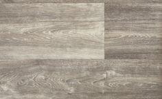 Sol vinyle TEXLINE, chêne lame large gris, rouleau 3 m - Saint Maclou
