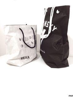 Shopper cemento : Black & White #PKGSP | packaging specialist