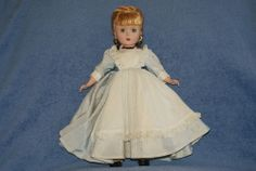 "Very Pretty 14"" Vintage Madame Alexander Little Women Meg Doll In Tagged Dess"
