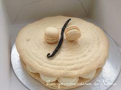 macaron géant à la vanille le meilleur pâtissier