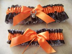 camo wedding ideas | Bridal Garter Set Camouflage Camo Mossy Oak Blaze New | eBay