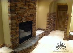 Stone: Frontier Ledge manufactured stone veneer by Kodiak Mountain Stone