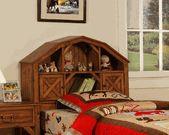 zzz Dakota Barn Style Bookcase Bed - Powell Furniture
