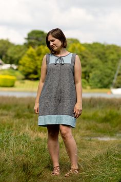 Linen Poppy Tunic, pattern by Make It Perfect, sewn by Craftstorming