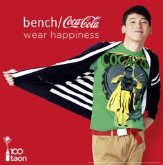 Enchong Dee for Coke x bench/ X Bench, Hot Couples, Mens Fashion, Coke, My Love, How To Wear, Blog, Moda Masculina, Man Fashion