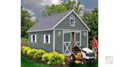 Best Barns Belmont 12 ft. x 20 ft. Wood Storage Shed Kit with Floor including 4 x 4 Runners belmont_1220df at The Home Depot - Mobile