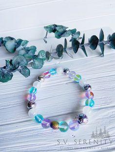 Handmade Gemstone Jewelry by S.V. Serenity  on Etsy Yoga Mala, Gemstone Jewelry, Unique Jewelry, Healing Bracelets, Stretch Bracelets, Serenity, Jade, Sapphire, Mermaid