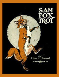 Sam Fox Trot Refrigerator Magnet