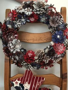 Texas Patriotic Design- Texas Pine Design original