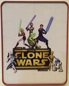 (TAS031128) - Star Wars - The Clone Wars Tin Pencil Box