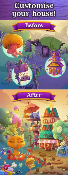 Bubble Witch 3 Saga - The brand new game in the popular Bubble Witch series. Stella the Witch is back and she needs your help to defeat the evil Wilbur in this exciting adventure! He may look cute, but he's full of magical mischief! Travel the realm bursting as many bubbles as you can in this bubble shooting puzzle game.