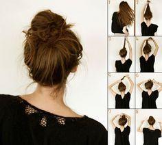 Peinados fáciles para el día a día: moño de bailarina