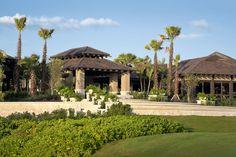 Bahia Beach Resort  Golf Club. The golf clubhouse. Designed by SB Architects