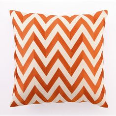 More orange throw pillows #SilkDegreesHOME