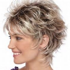 Short Layered Feathered Hairstyles