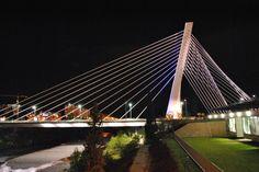 Millennium Bridge, Podgorica, Montenegro