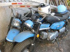 Custom suzuki rv-90 motorcycle